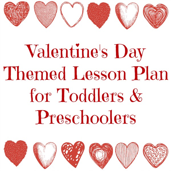 valentine's day themed lesson plan