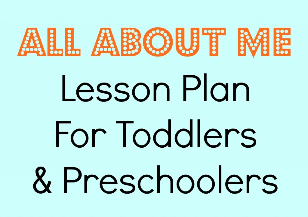 Tot school all about me making time for mommy for Plan me