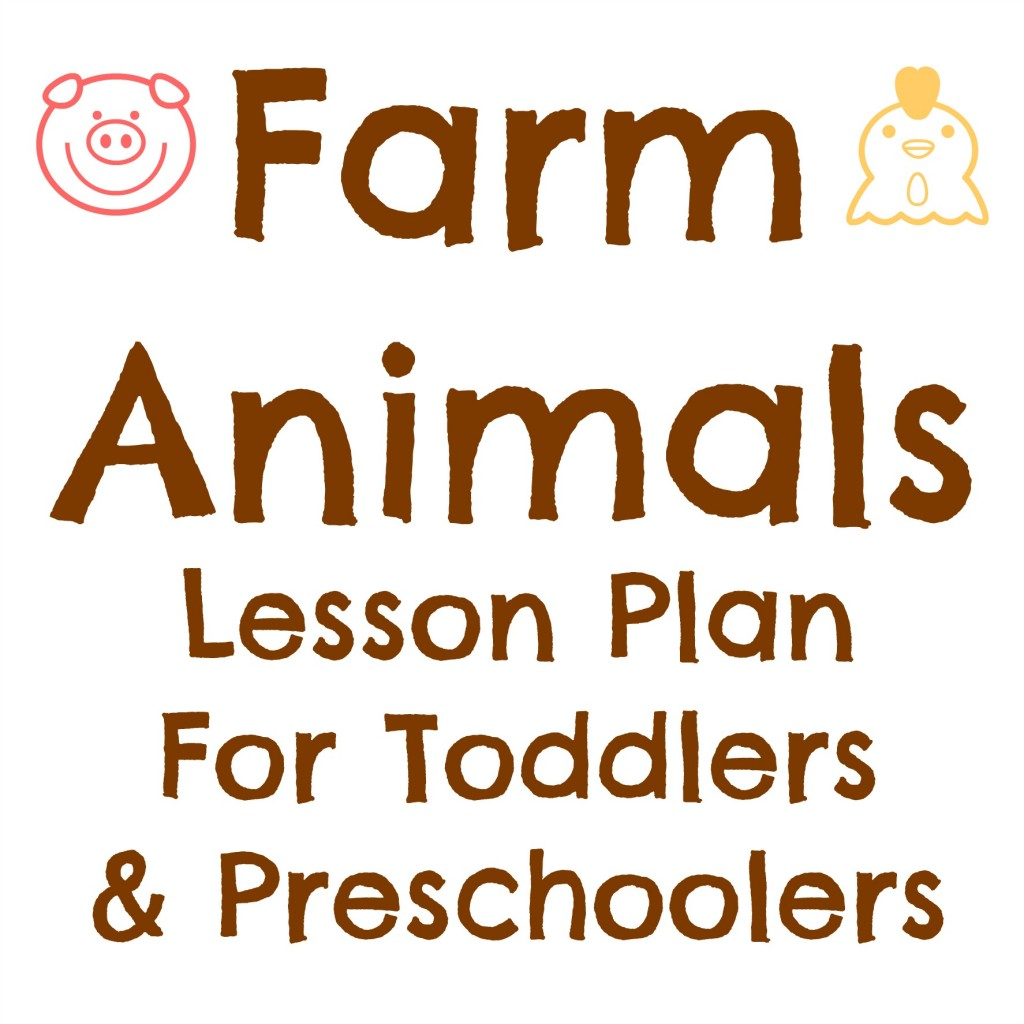 Tot School: Farm Animals