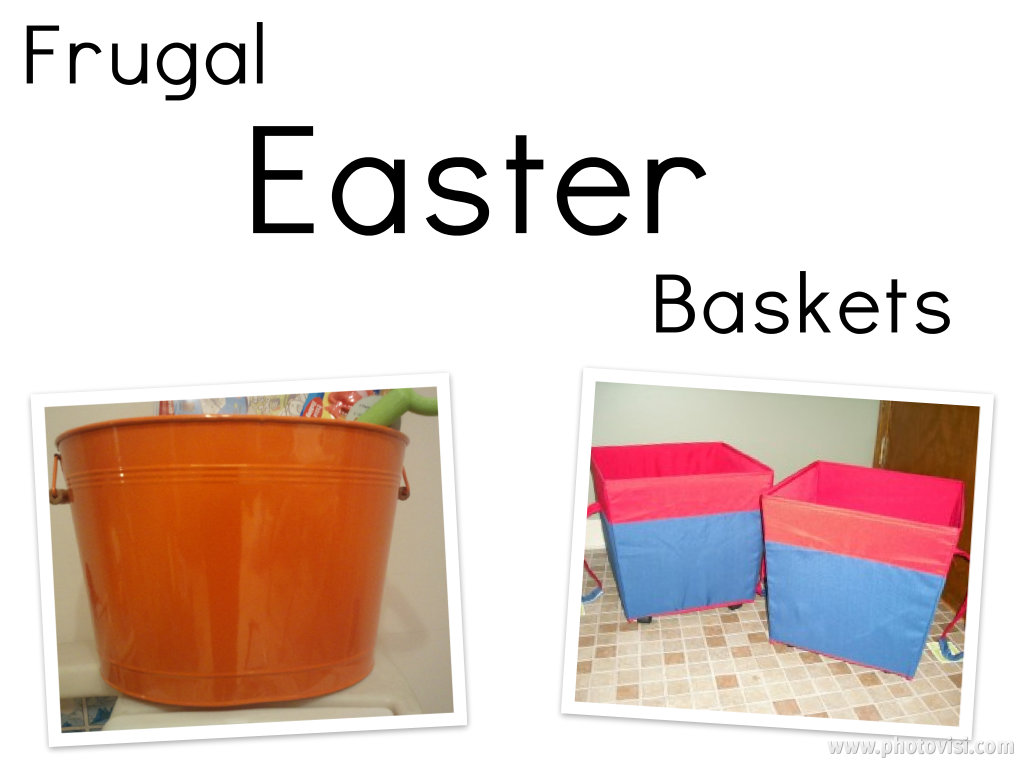 Top 10 Tuesday: Frugal Easter Baskets