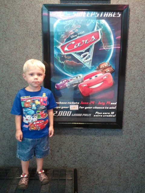 Fandango and Cars 2 {Review and Giveaway}