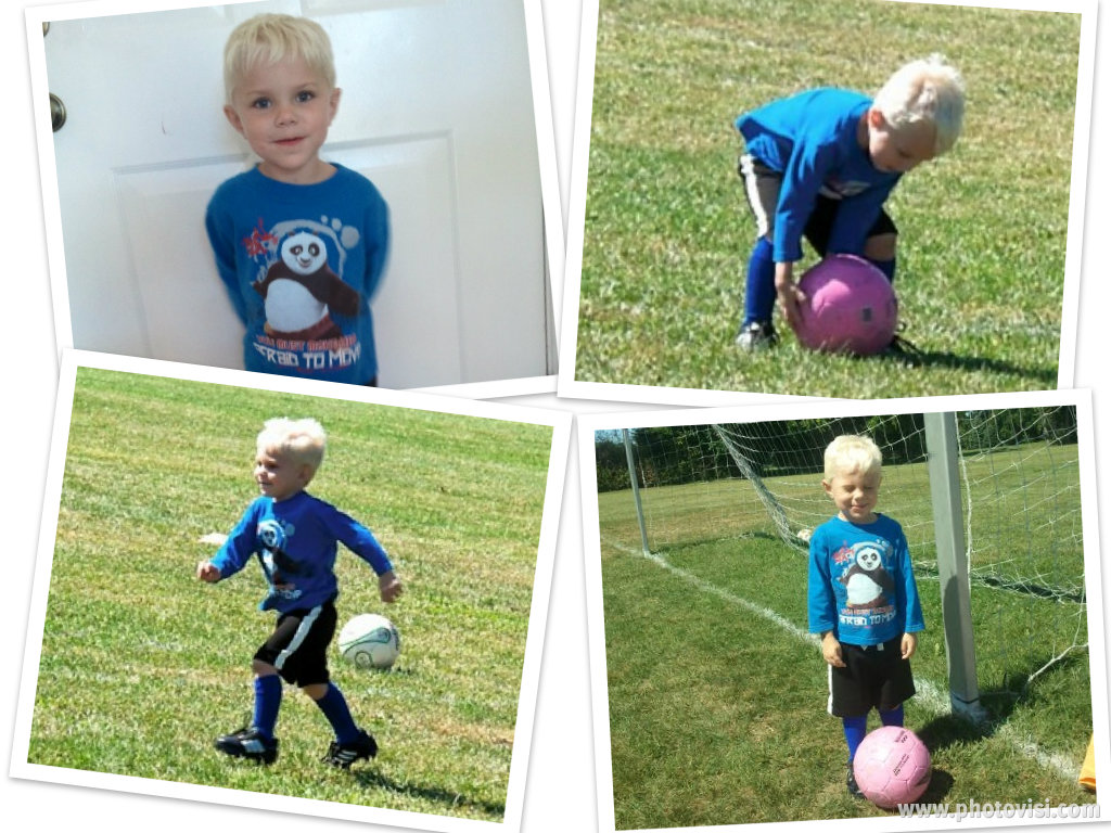 Wordless Wednesday: My Little Soccer Player