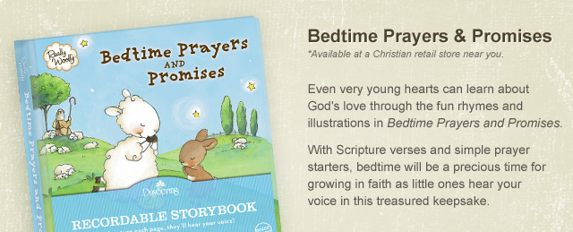 Dayspring's Recordable Storybooks {Giveaway}
