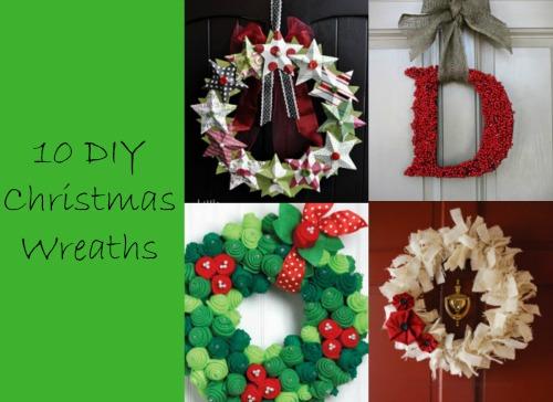10 DIY Handmade Wreaths