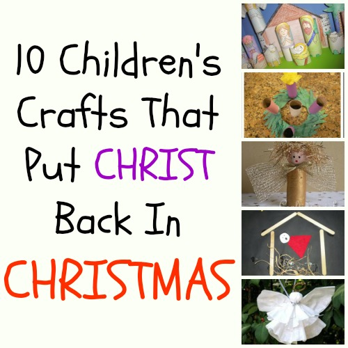 Christian Christmas Crafts.Christmas Crafts Making Time For Mommy