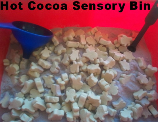 Hot Cocoa Sensory Tub