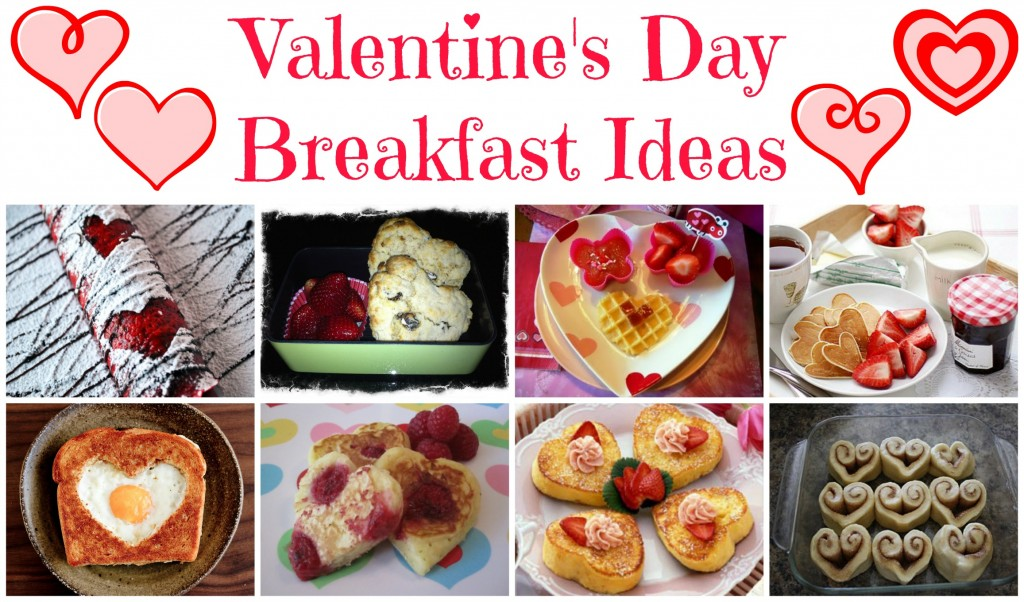 10 Valentine's Day Themed Breakfasts