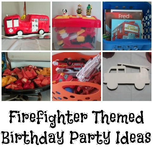 Firetruck Themed Birthday Party