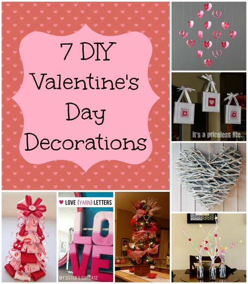 7 Valentine S Day Decorations