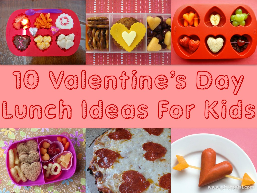 10 Valentine's Day Themed Lunches