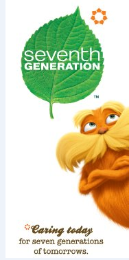 Go Green With The Lorax and Seventh Generation! {Review and Prize Pack Giveaway}