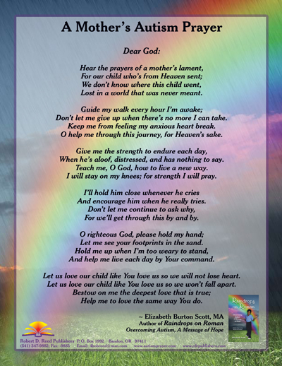 A Mother's Autism Prayer