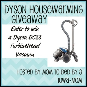 {Bloggers} Sign Up For The Free Housewarming Dyson Giveaway
