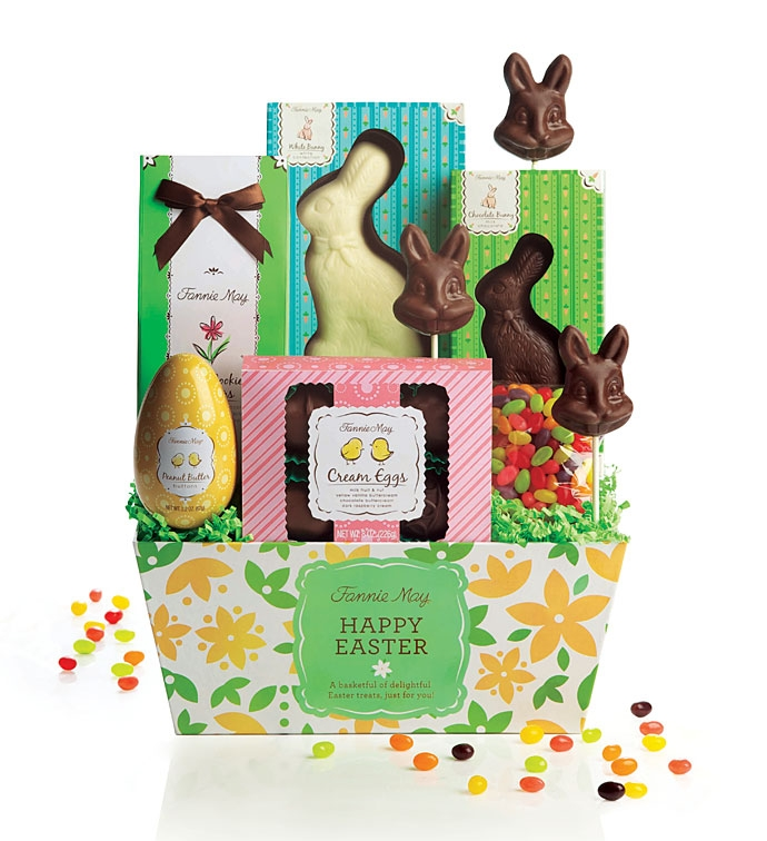 Fannie May Easter Chocolate Gift Basket Review & Giveaway