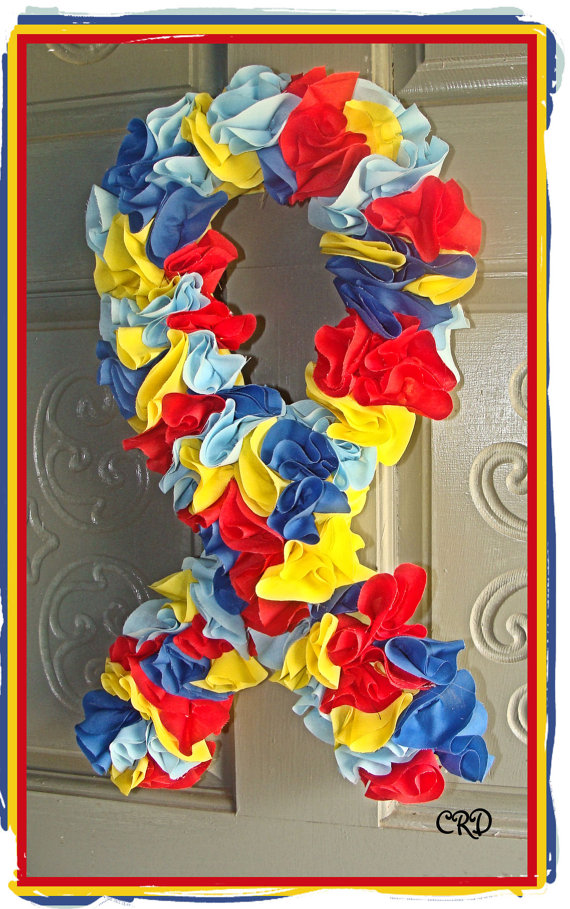 Autism Awareness Wreaths
