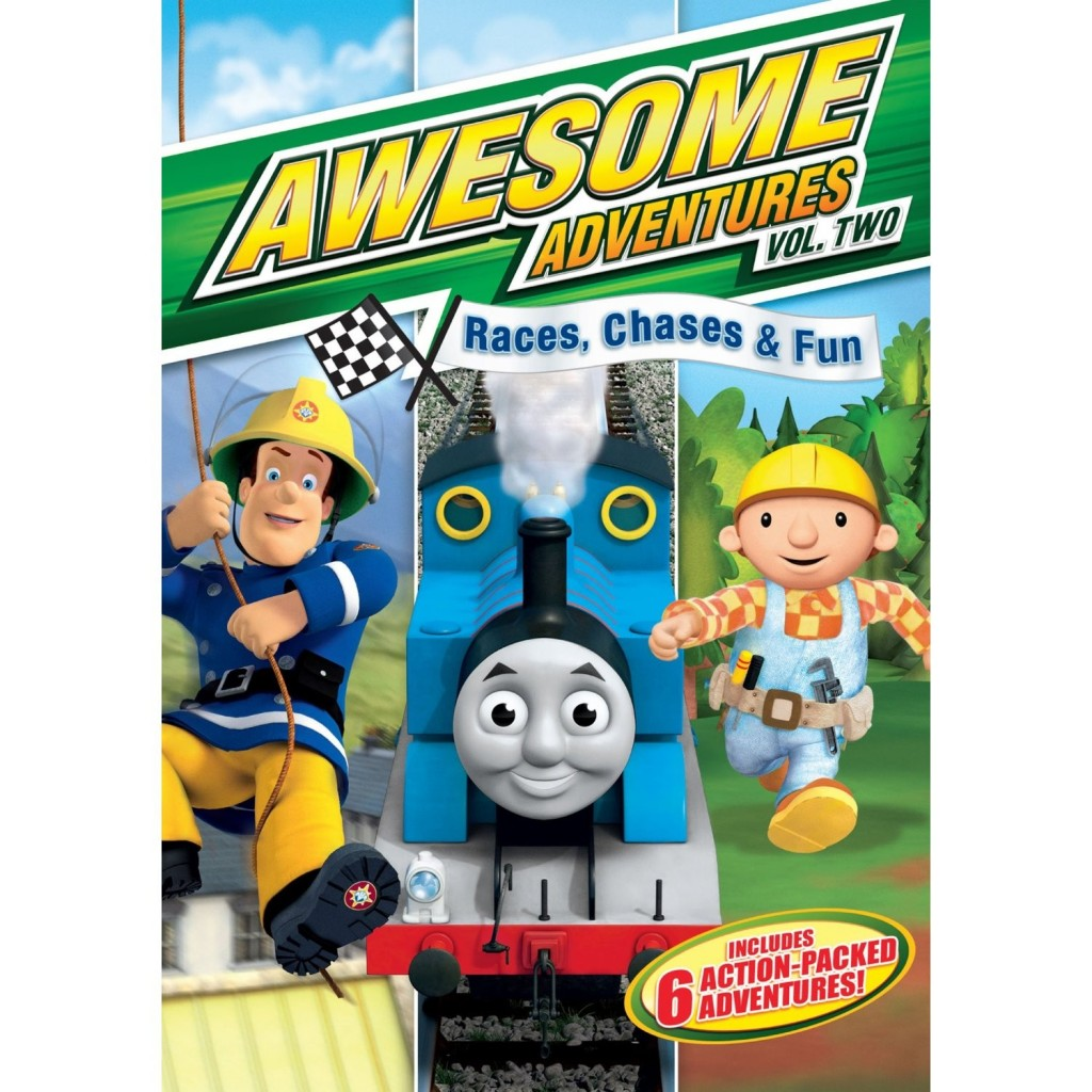 Awesome Adventures: Races, Chases & Fun {Children's DVD Giveaway}