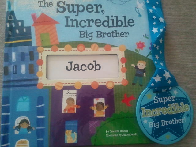 Personalized Big Brother & Big Sister Books {Giveaway}