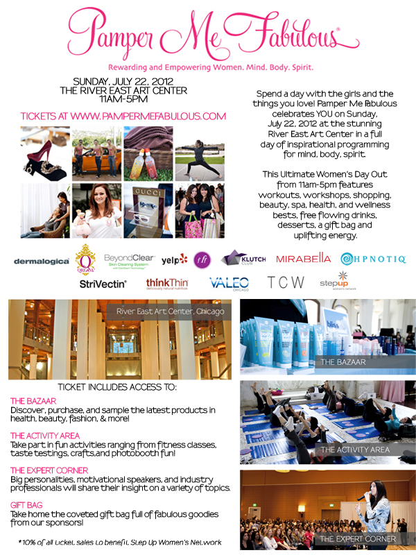 Pamper Me Fabulous Chicago {Event Ticket Giveaway!}