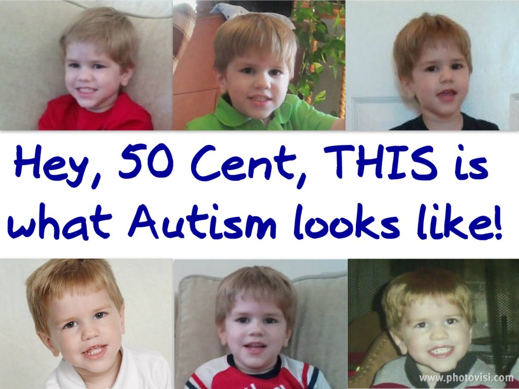 This Is What Autism Looks Like In My Child {A Response To 50 Cent}