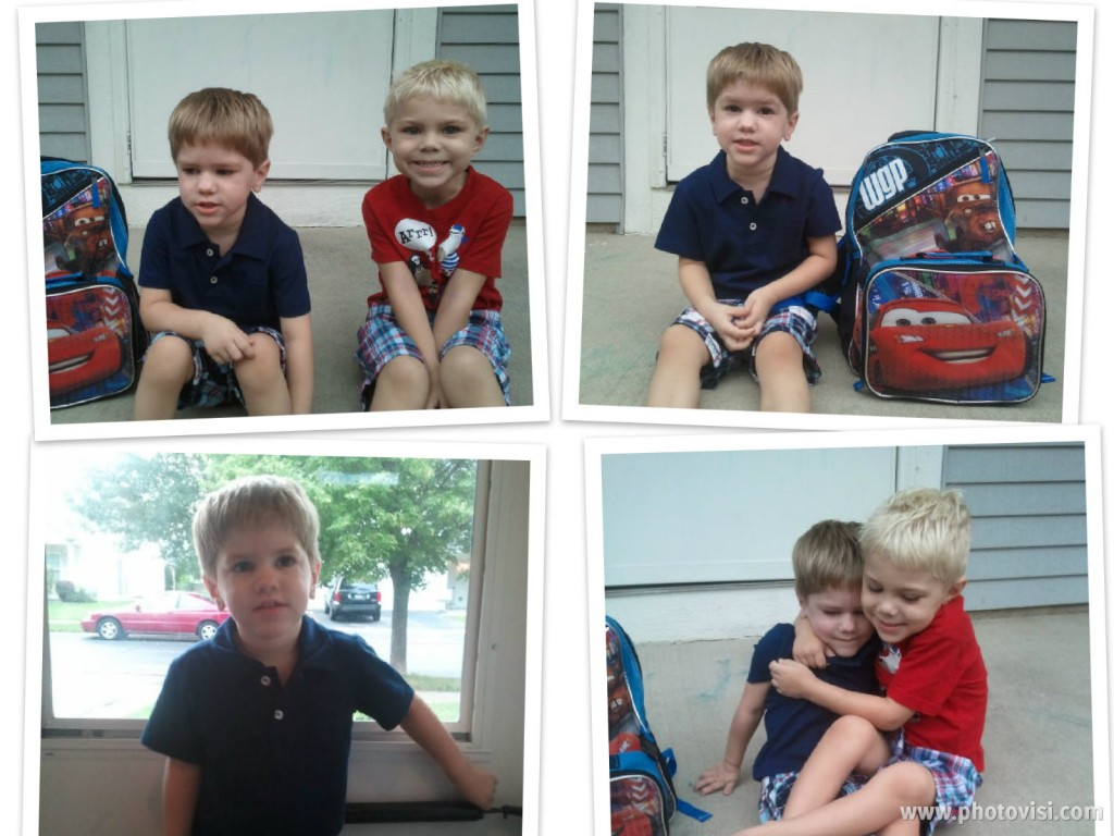 First Days Of School {Wordless Wednesday}