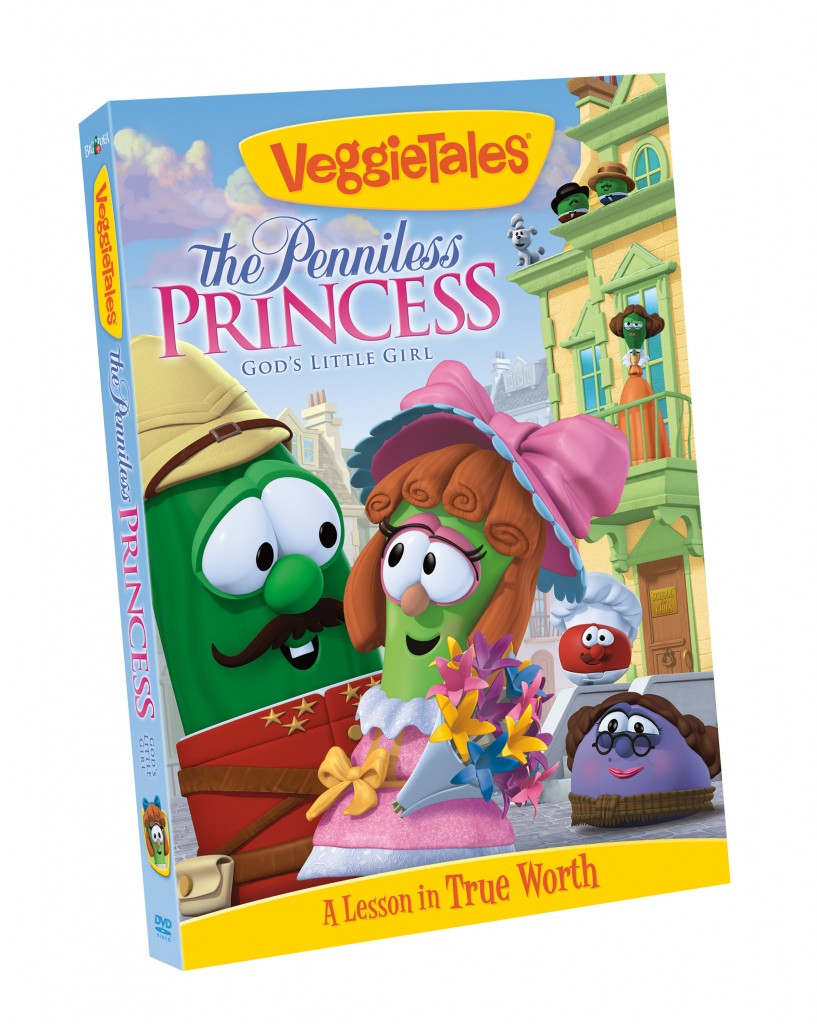 VeggieTales The Penniless Princess DVD {Review & Giveaway}