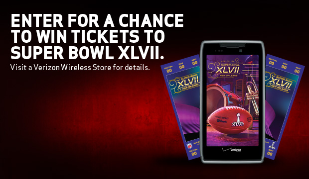 Verizon Wireless Super Bowl Contest