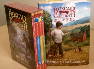 Autographed 'The Boxcar Children' Holiday Gift Set {Giveaway}