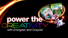 "Energizer's ""Power The Creativity"" Event With Crayola"