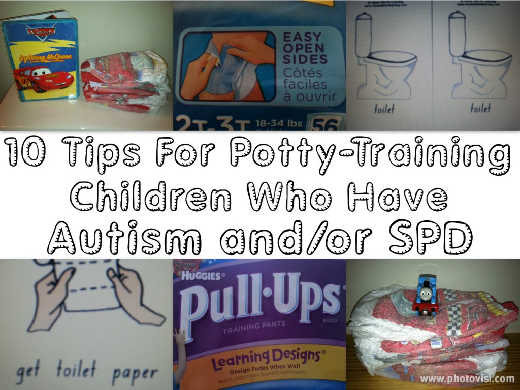 Potty Training Children Who Have Special Needs