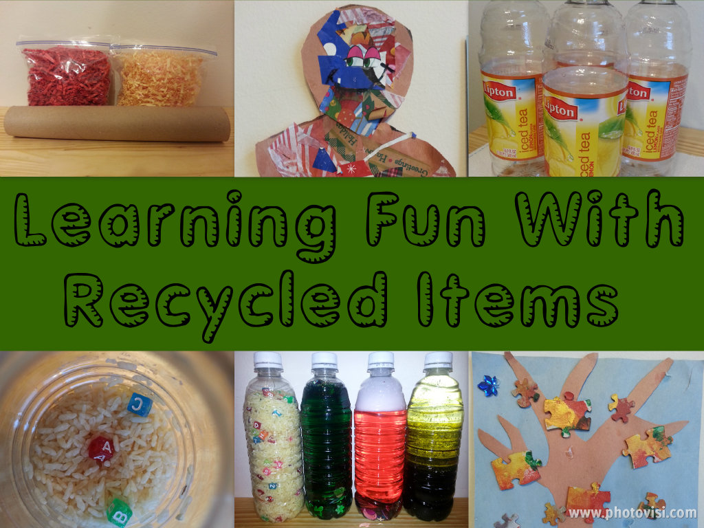 learning fun recycled