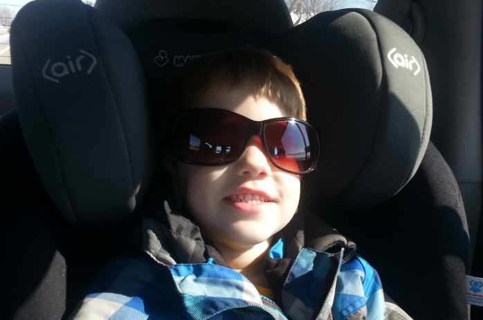 Luke In Mommy's Sunglasses {Wordless Wednesday}