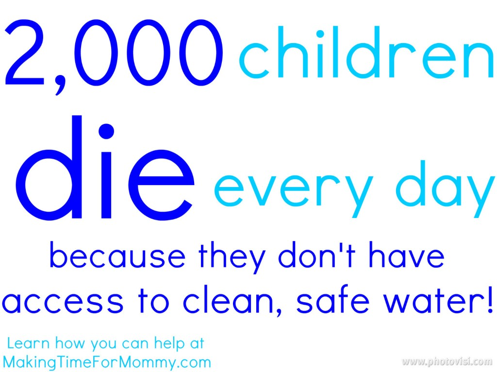 WaterAid {How You Can Help Give Clean Water To Those In Need}