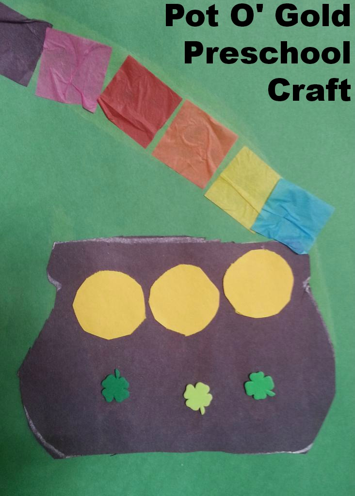 Pot O' Gold Craft {For Preschoolers}