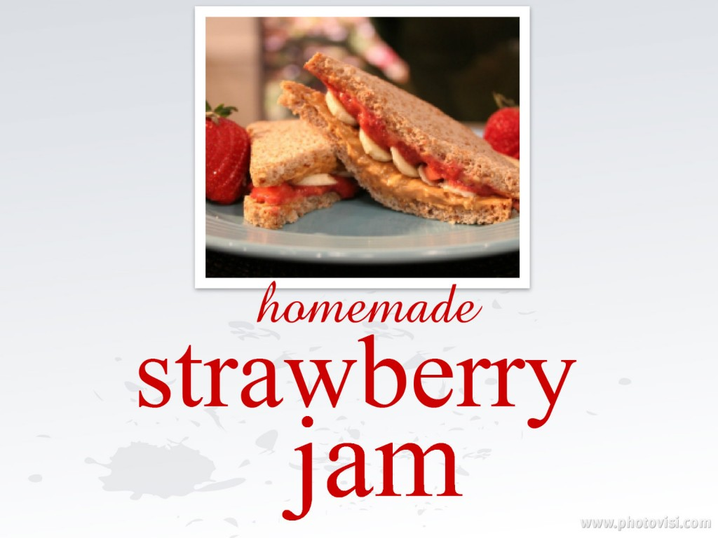 strawberry jam collage