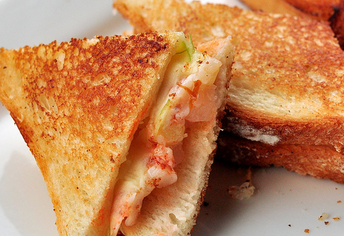 Lobster Grilled Cheese Recipe