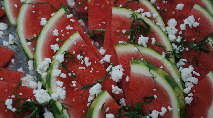 Watermelon Salad {Recipe}