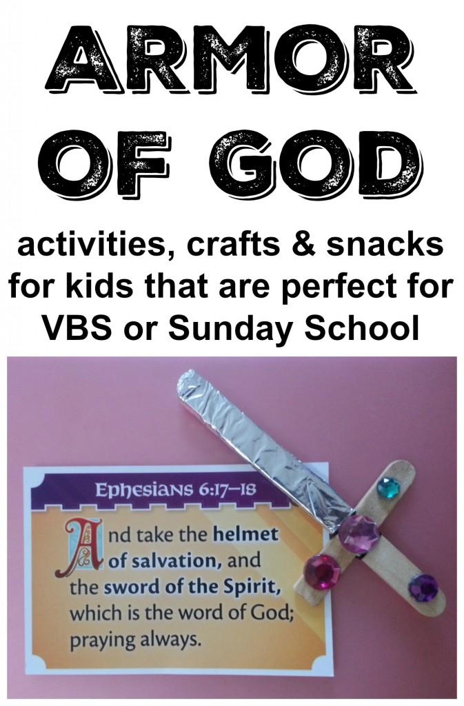 Good Sunday School Armor Of God Craft