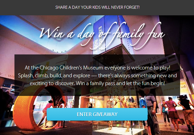 children's museum giveaway