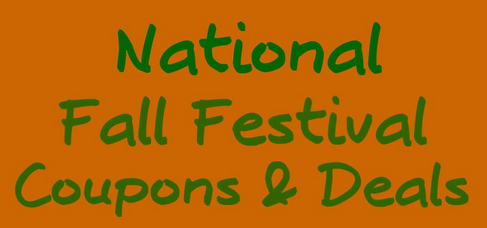 National Fall Festival Savings