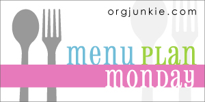 Menu Plan {Week of 9/23}