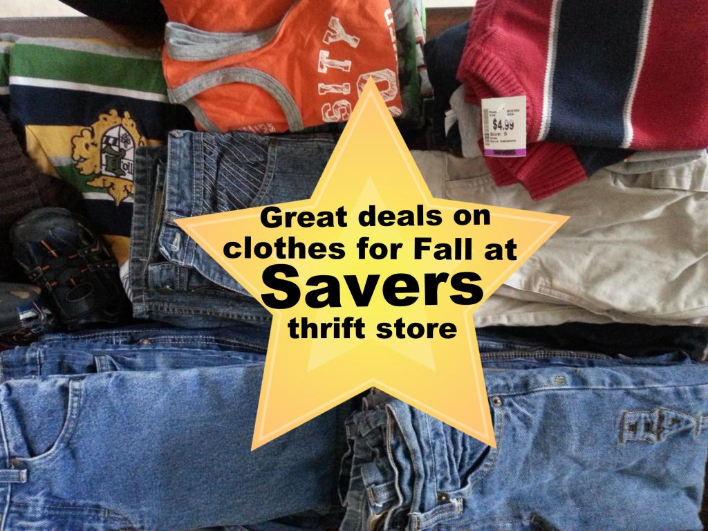 Shopping At Savers For Fall Clothes {Giveaway}