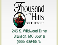 Thousand Hills Golf Resort {Branson, MO}