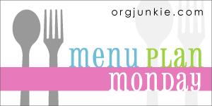 Menu Plan (Week of 10/7}