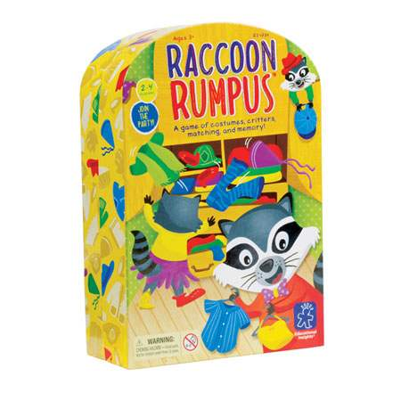 Raccoon Rumpus Preschool Game {Giveaway}