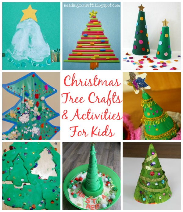 12 Christmas Tree Crafts & Activities For Kids
