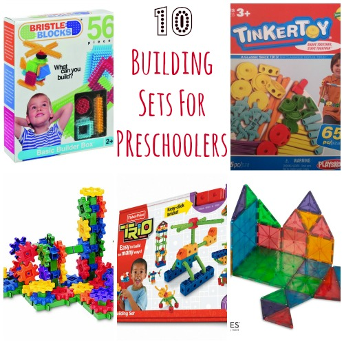 Top Ten Building Toys For Preschoolers