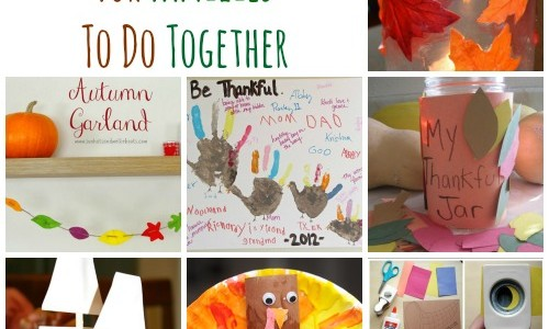 thanksgiving family crafts