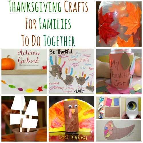 10 Thanksgiving Crafts For Families To Do Together