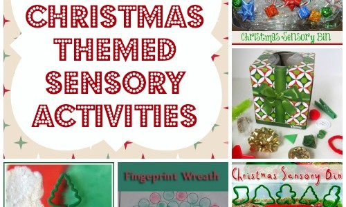 christmas themed sensory activities