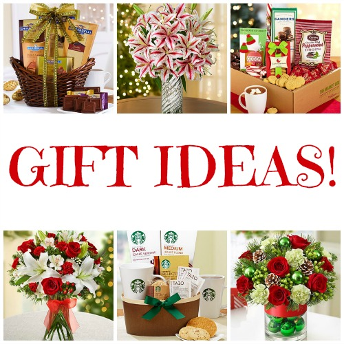 Holiday Gift Baskets and Flower Arrangements
